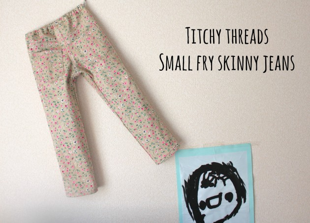 small fry skinny jeans : titchy threads x miss matatabi