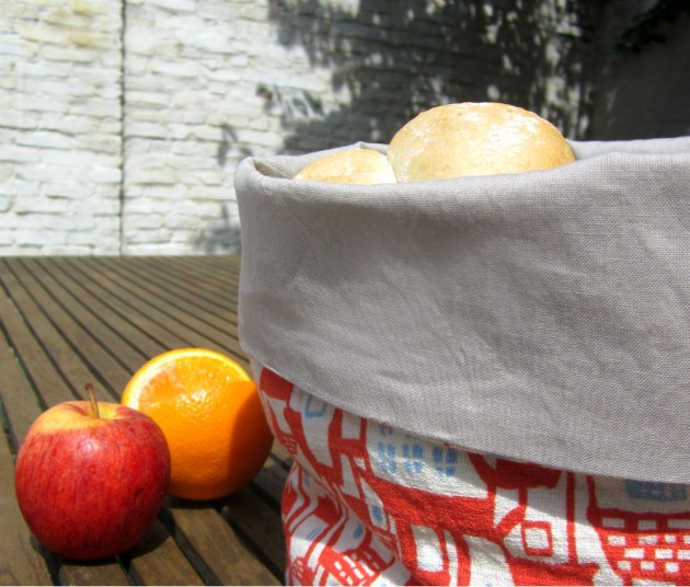 fabric basket : straightgrain