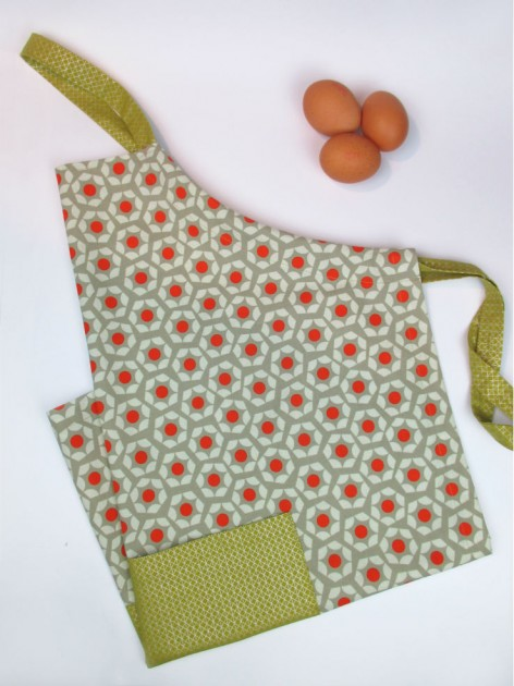 cotton + steel apron by Straightgrain