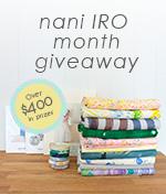 nani IRO month giveaway
