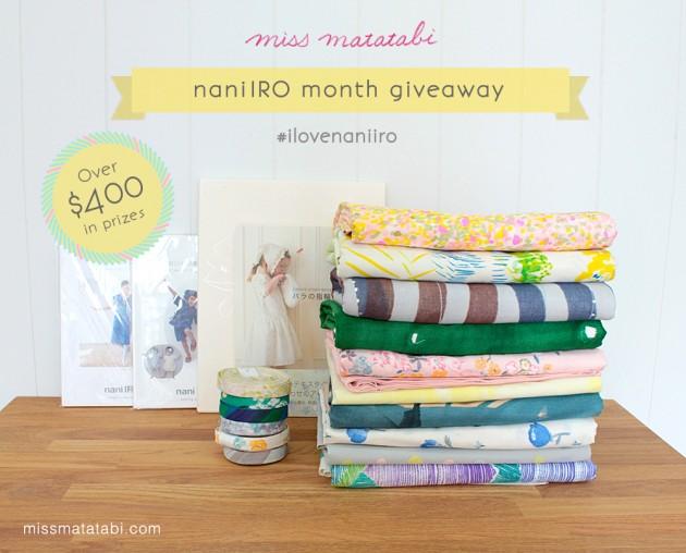 nani IRO giveaway: miss matatabi